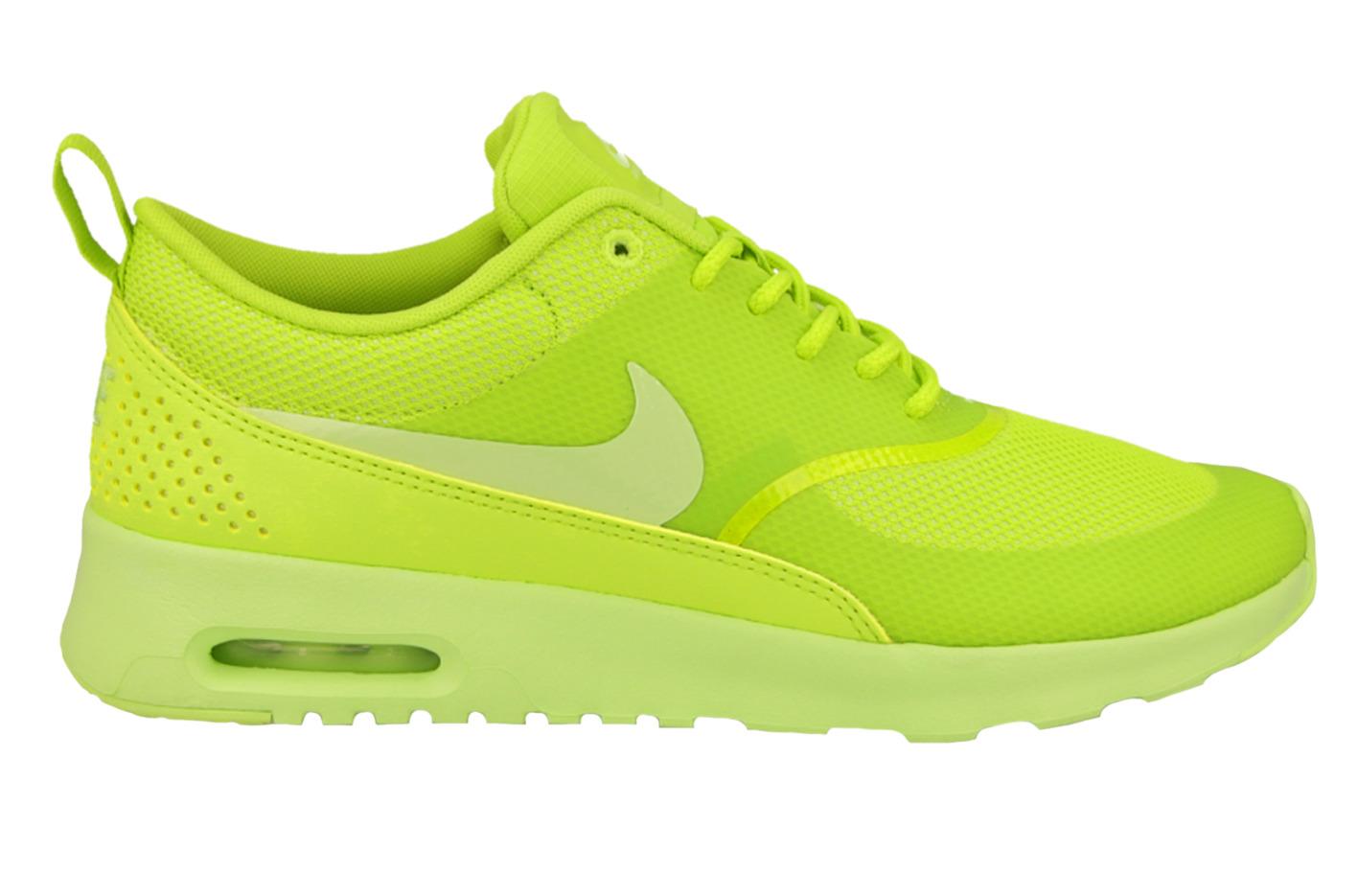 nike air max thea lime green